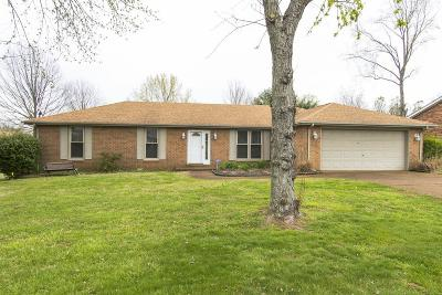 Smyrna Single Family Home Under Contract - Showing: 122 Partridge Ct