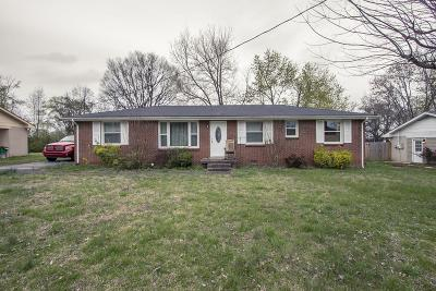 Wilson County Single Family Home Under Contract - Showing: 514 Terry Ln