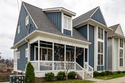 East Nashville Single Family Home For Sale: 504 S 9th St