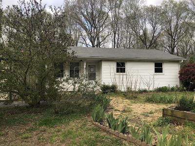 Ashland City Single Family Home For Sale: 1426 Valley View Rd