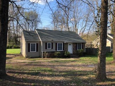 Christian County, Ky, Todd County, Ky, Montgomery County Single Family Home For Sale: 83 Seminole Trl