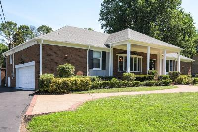 Old Hickory Single Family Home For Sale: 221 Shute Ln