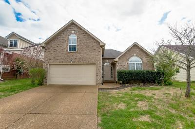Mount Juliet Single Family Home Under Contract - Showing: 1420 Saddle Crest