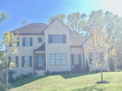 Thompsons Station Single Family Home For Sale: 3829 Pulpmill Road Lot 6072