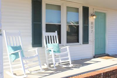 Clarksville Single Family Home Under Contract - Showing: 807 Princeton Cir