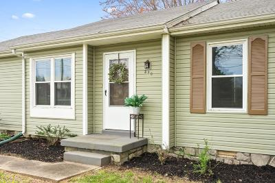 Clarksville Single Family Home Under Contract - Showing: 320 Cunningham Lane