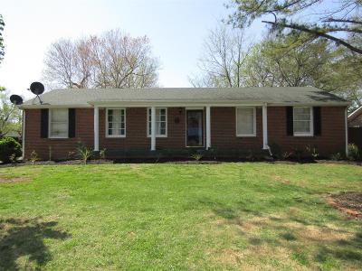 Murfreesboro Single Family Home For Sale: 1614 Minerva Av