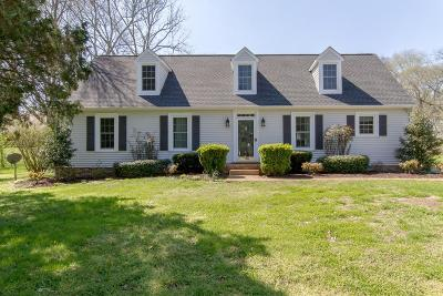 Franklin Single Family Home For Sale: 408 Cotton Ln