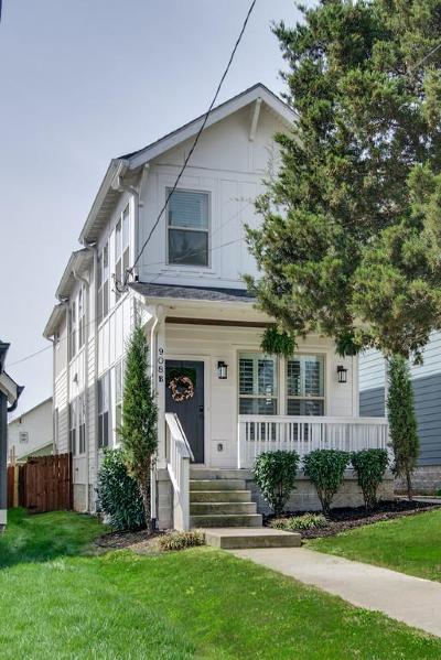 Nashville Single Family Home For Sale: 908 B Spain Ave