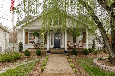Davidson County Single Family Home Under Contract - Showing: 103 Chapel Ave