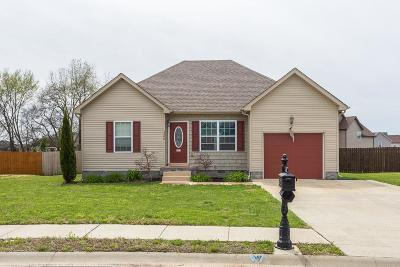 Clarksville Single Family Home For Sale: 3740 Crisscross Ct