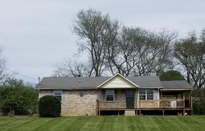 Rutherford County Single Family Home Under Contract - Showing: 5012 Major Dr