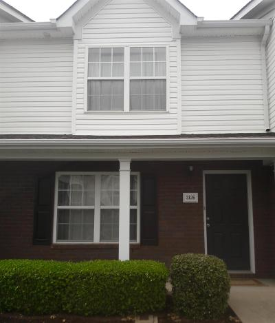 Lavergne Condo/Townhouse Under Contract - Not Showing: 3126 George Buchanan