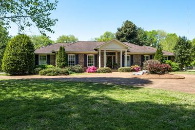 Brentwood Single Family Home Under Contract - Not Showing: 6307 Milbrook Rd