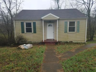 Clarksville TN Single Family Home Active - Showing: $53,000