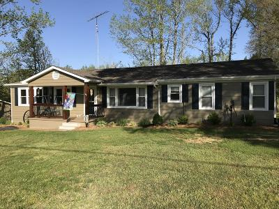 Camden Single Family Home For Sale: 135 Divider & Natchez Trace