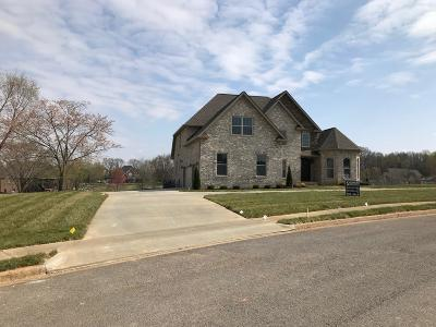 Clarksville Single Family Home Under Contract - Showing: 245 Savannah Lakes