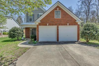 Mount Juliet Single Family Home Under Contract - Showing: 2241 Monthemer Cove Dr
