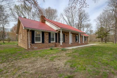 Christian County, Ky, Todd County, Ky, Montgomery County Single Family Home For Sale: 1709 Old Dover Rd