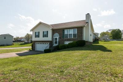 Clarksville Single Family Home Under Contract - Showing: 3129 Whitetail Dr