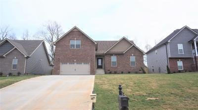 Clarksville Single Family Home Under Contract - Showing: 49 Griffey Estates