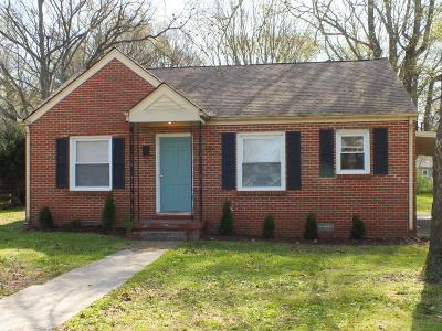 Rutherford County Single Family Home Under Contract - Showing: 407 1st Ave