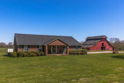 Lewisburg Single Family Home For Sale: 1626 Old Berlin Rd
