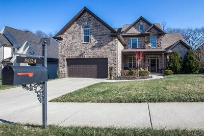 Spring Hill Single Family Home For Sale: 8024 Fenwick Ln