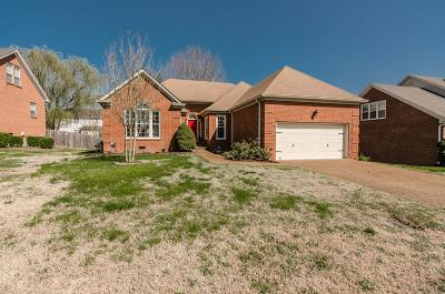 Hendersonville Single Family Home Under Contract - Showing: 110 Stonehollow Way