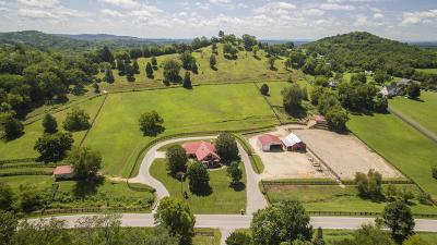 Williamson County Single Family Home For Sale: 6894 Pulltight Hill Rd