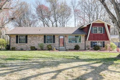 White House Single Family Home Under Contract - Showing: 1025 Poplar Ridge Rd