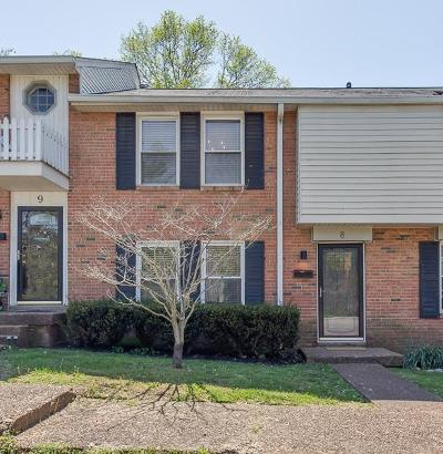 Nashville Condo/Townhouse Under Contract - Showing: 5510 Country Dr Apt 8