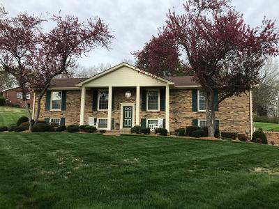 Christian County, Ky, Todd County, Ky, Montgomery County Single Family Home For Sale: 601 Cornwall Rd
