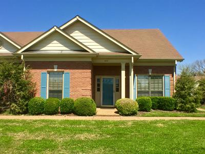 Nashville Condo/Townhouse For Sale: 8519 Sawyer Brown Rd