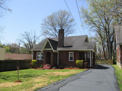 Madison Single Family Home Under Contract - Showing: 852 Argle Ave