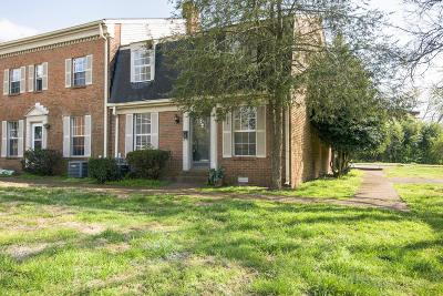 Davidson County Condo/Townhouse For Sale: 323 Forrest Park Rd Apt 3-8
