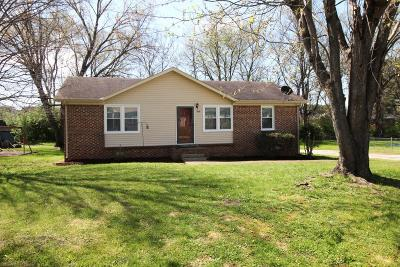 Columbia Single Family Home Under Contract - Showing: 1641 Williamson Dr