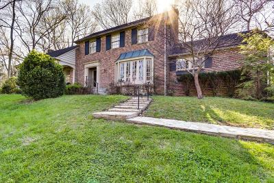 Nashville Single Family Home For Sale: 815 Willowdale Ct