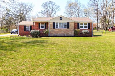 Wilson County Single Family Home For Sale: 1626 Edgewood Dr