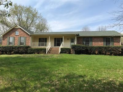 Hendersonville Single Family Home For Sale: 1410 Newmans Trail
