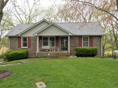 Clarksville Single Family Home Under Contract - Showing: 770 Hayden Dr