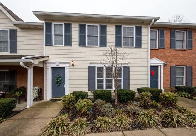 Hendersonville Condo/Townhouse For Sale: 113 Cages Rd Apt 10 #10