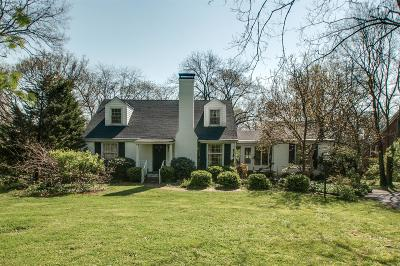Belle Meade Single Family Home Under Contract - Showing: 436 Lynnwood Blvd