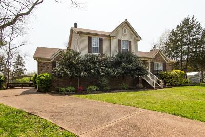 Davidson County Single Family Home Under Contract - Showing: 3513 Daisy Trl