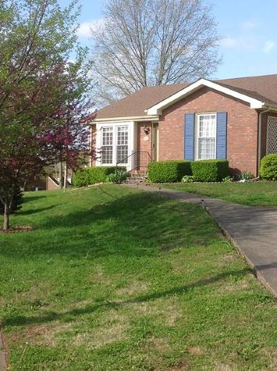 Clarksville Condo/Townhouse Under Contract - Not Showing: 3050 Woody Ln