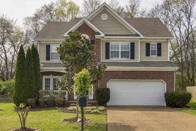 Thompsons Station Single Family Home For Sale: 1232 Annapolis Cir