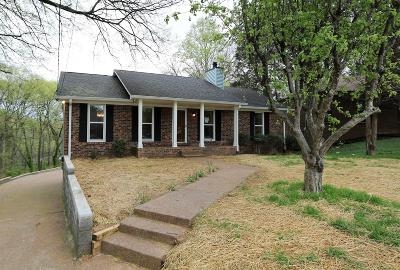 Nashville Single Family Home Under Contract - Showing: 712 Sandburg Pl