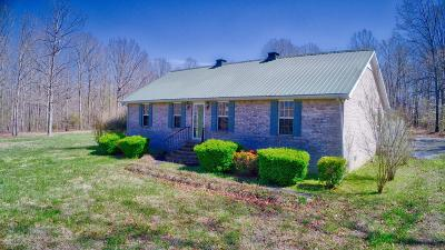 Bradyville Single Family Home Under Contract - Showing: 1072 Preacher Spry Rd