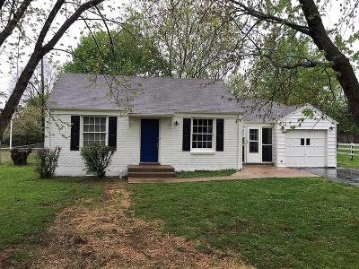 East Nashville Single Family Home Under Contract - Showing: 705 Groves Park Rd