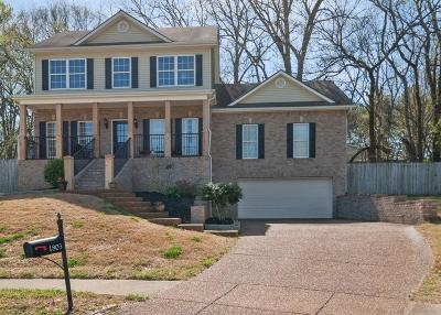 Thompsons Station Single Family Home Under Contract - Showing: 1803 Lecton Ct